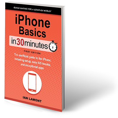 iPhone book - iPhone Basics In 30 Minutes