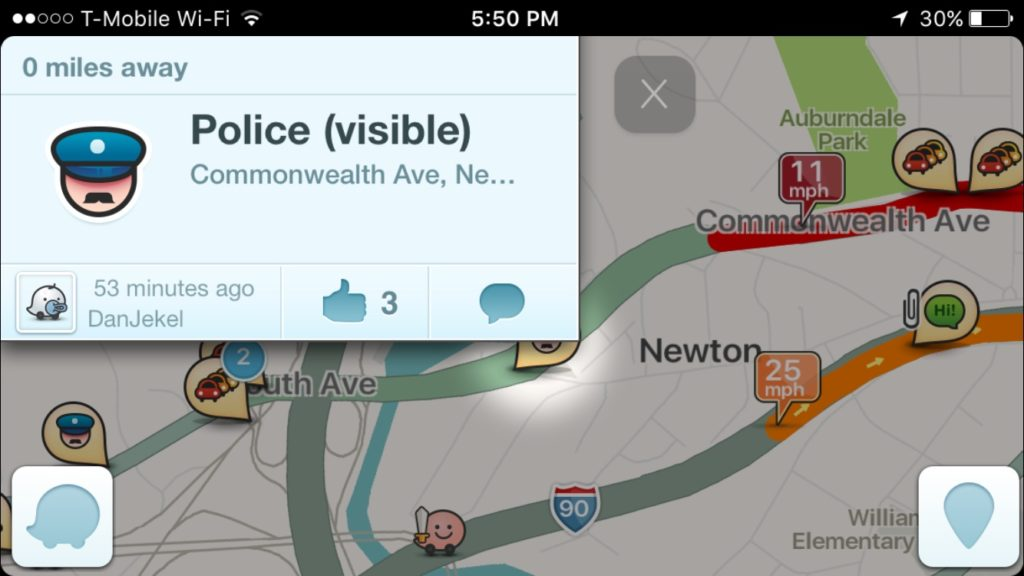 Waze app iPhone